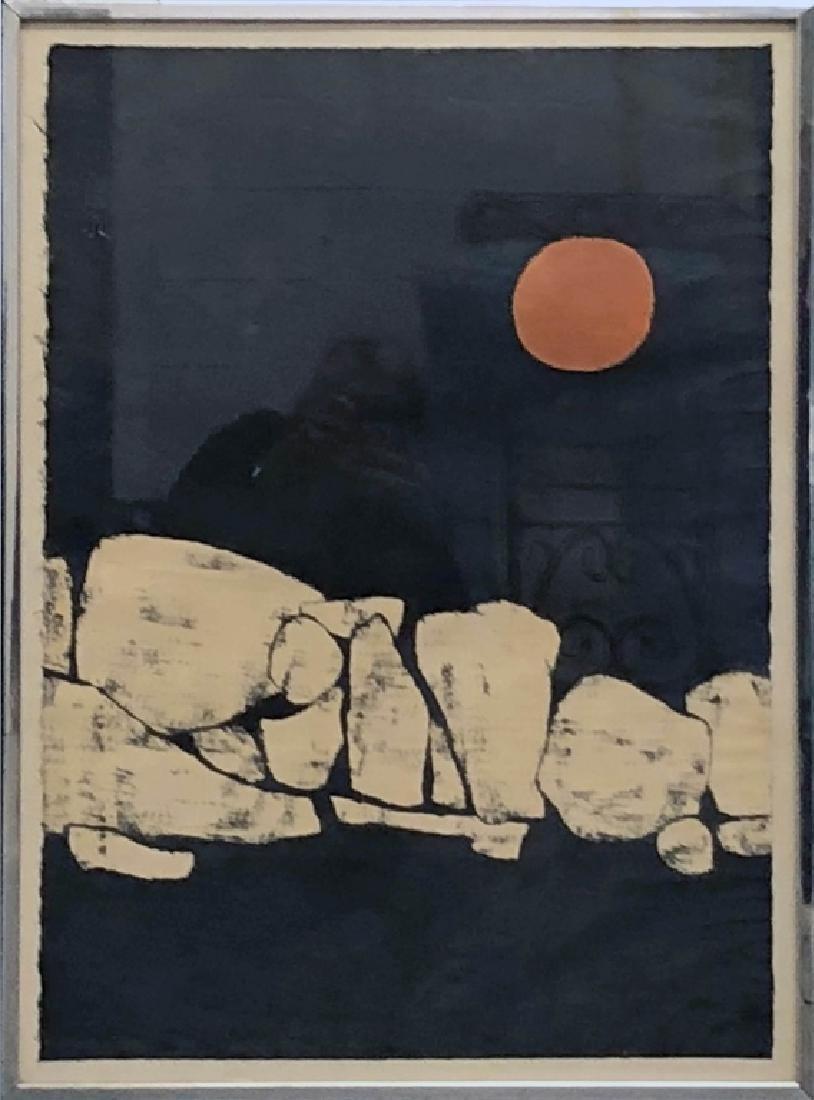 "Judith Ingram Signed Print ""Moonstones"""