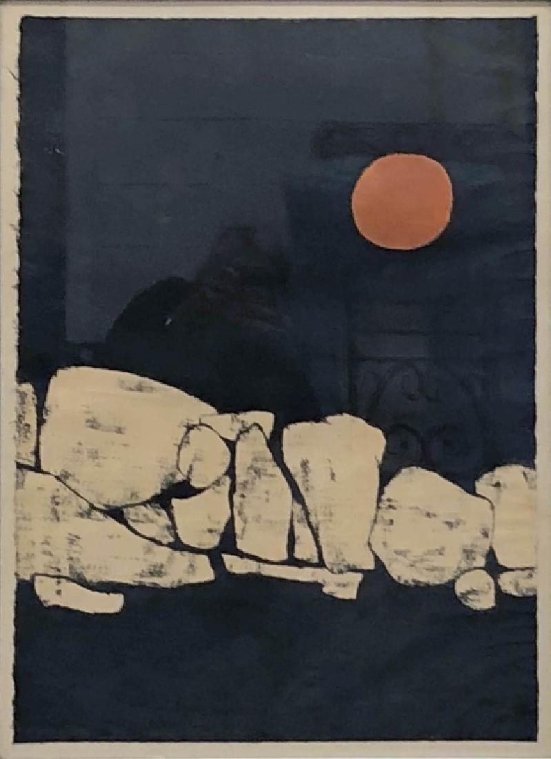 "Judith Ingram Signed Print ""Moonstones"" - 2"