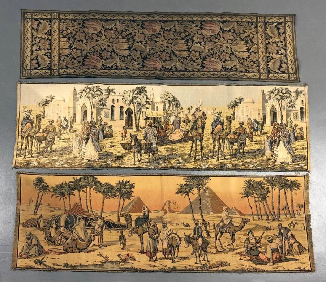 Three Tapestry Panels
