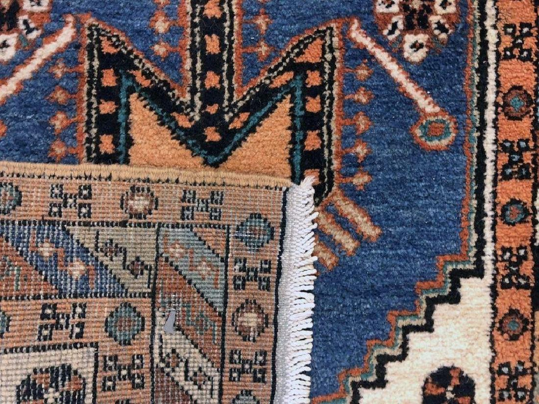 Persian Runner with Blue Field - 2