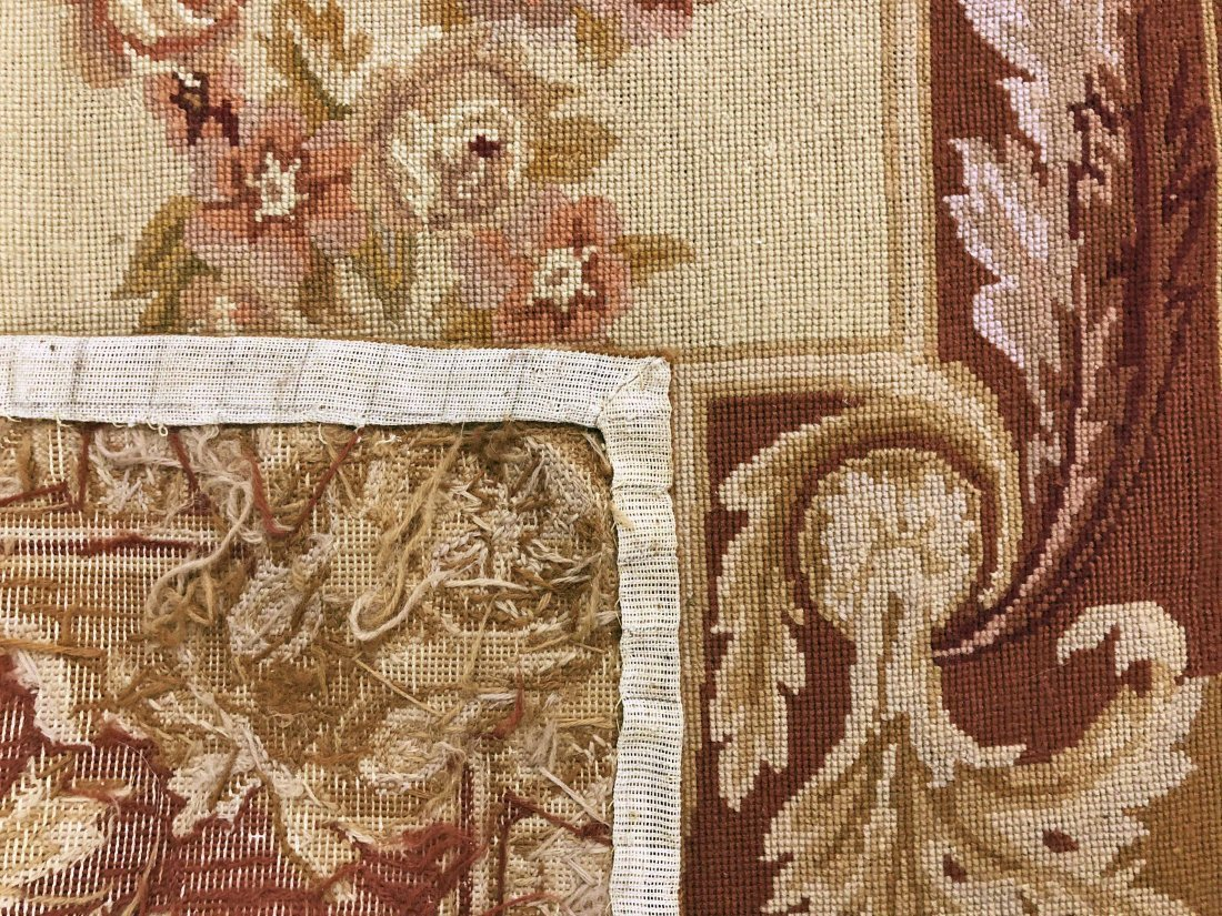 Needlepoint Aubusson Type Runner - 2
