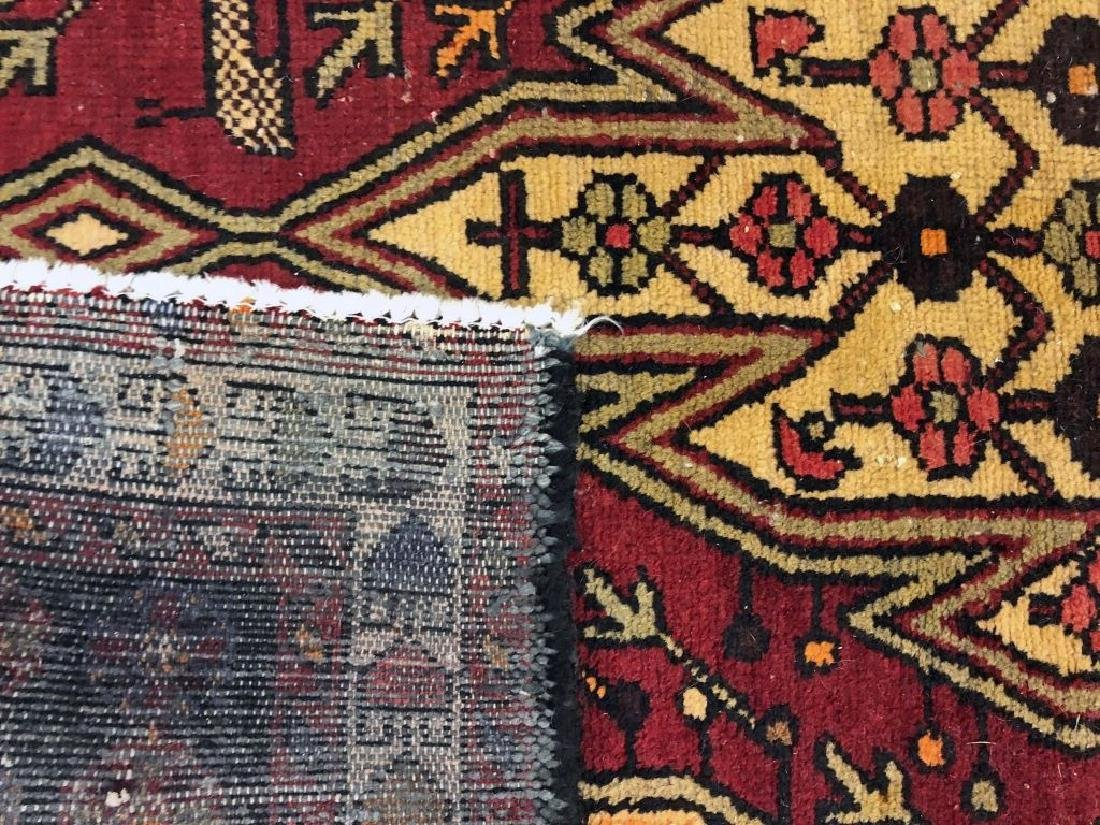 Persian Carpet with Red Field - 2