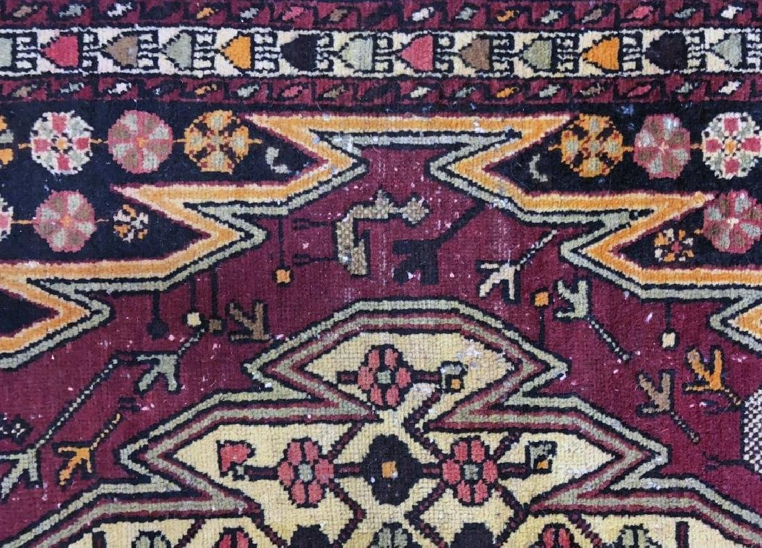 Persian Carpet with Red Field - 3
