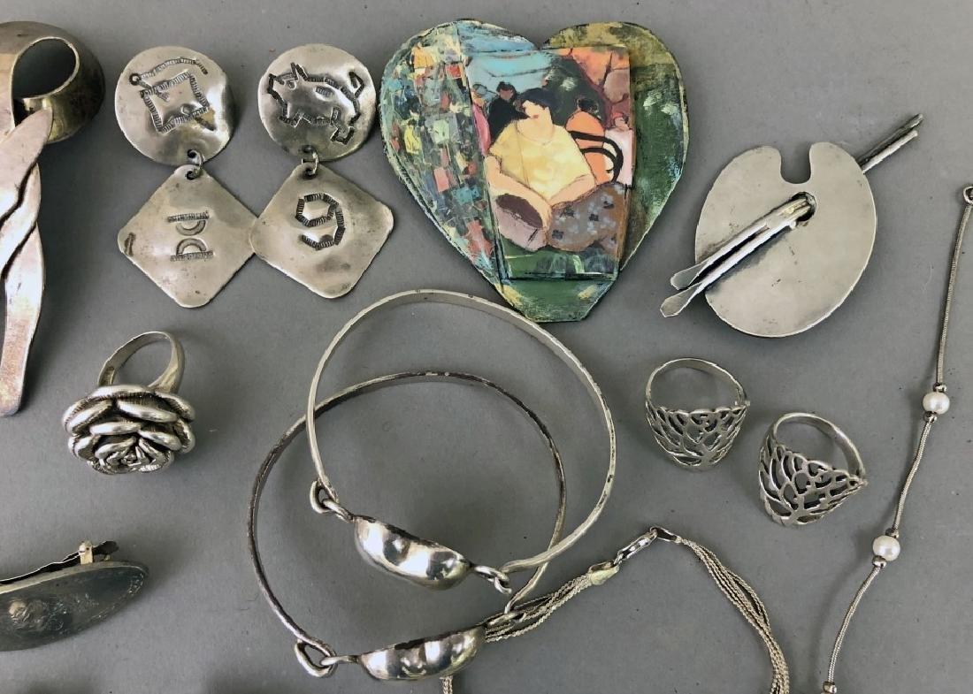 Vintage Silver Jewelry - 2