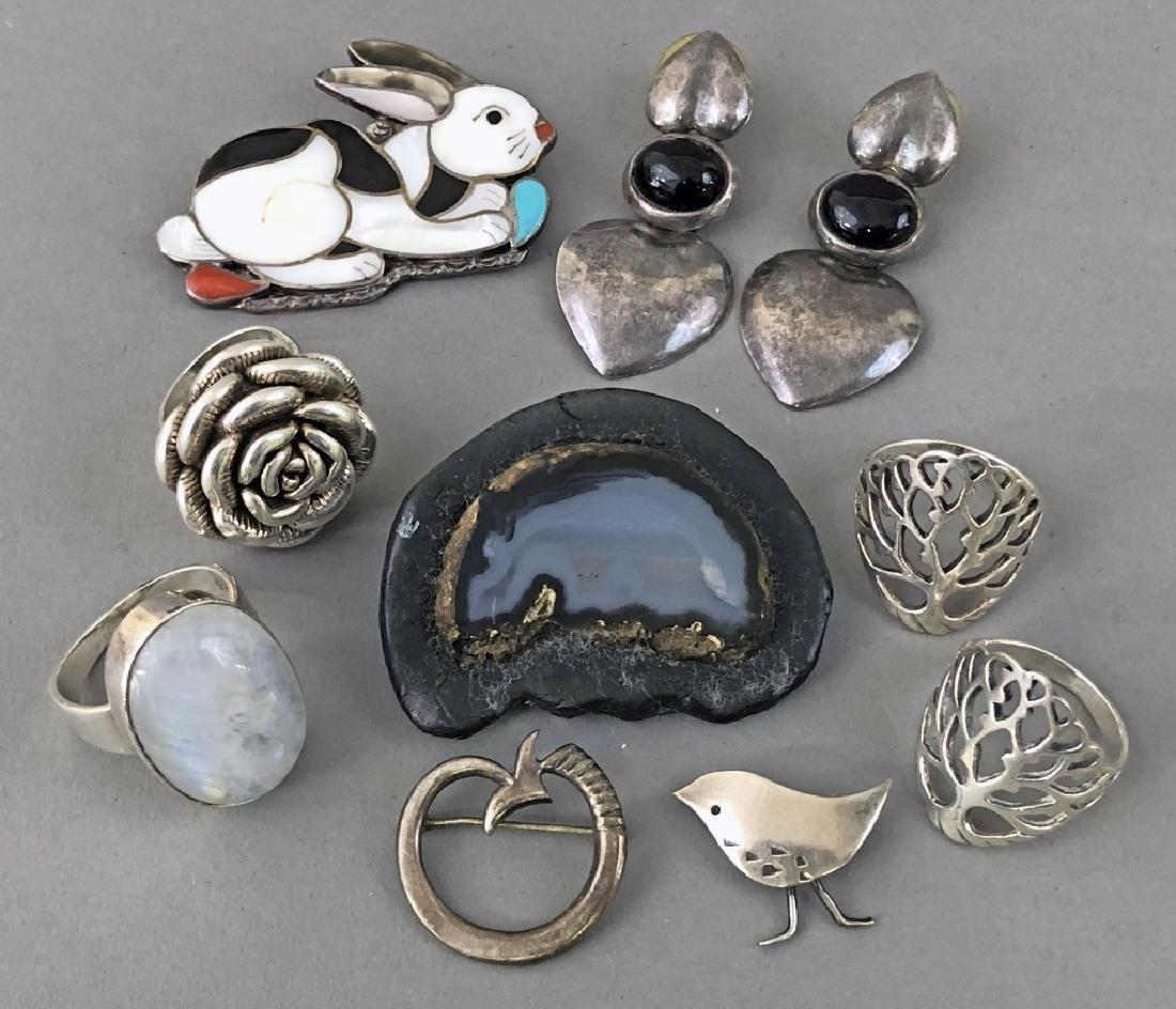 Vintage Silver Jewelry - 8