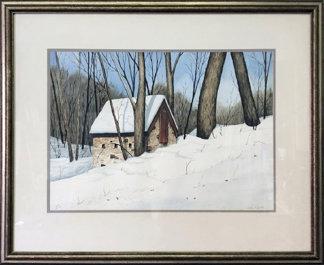 """Spittler """"Springhouse on Dowlin Forge Road"""""""