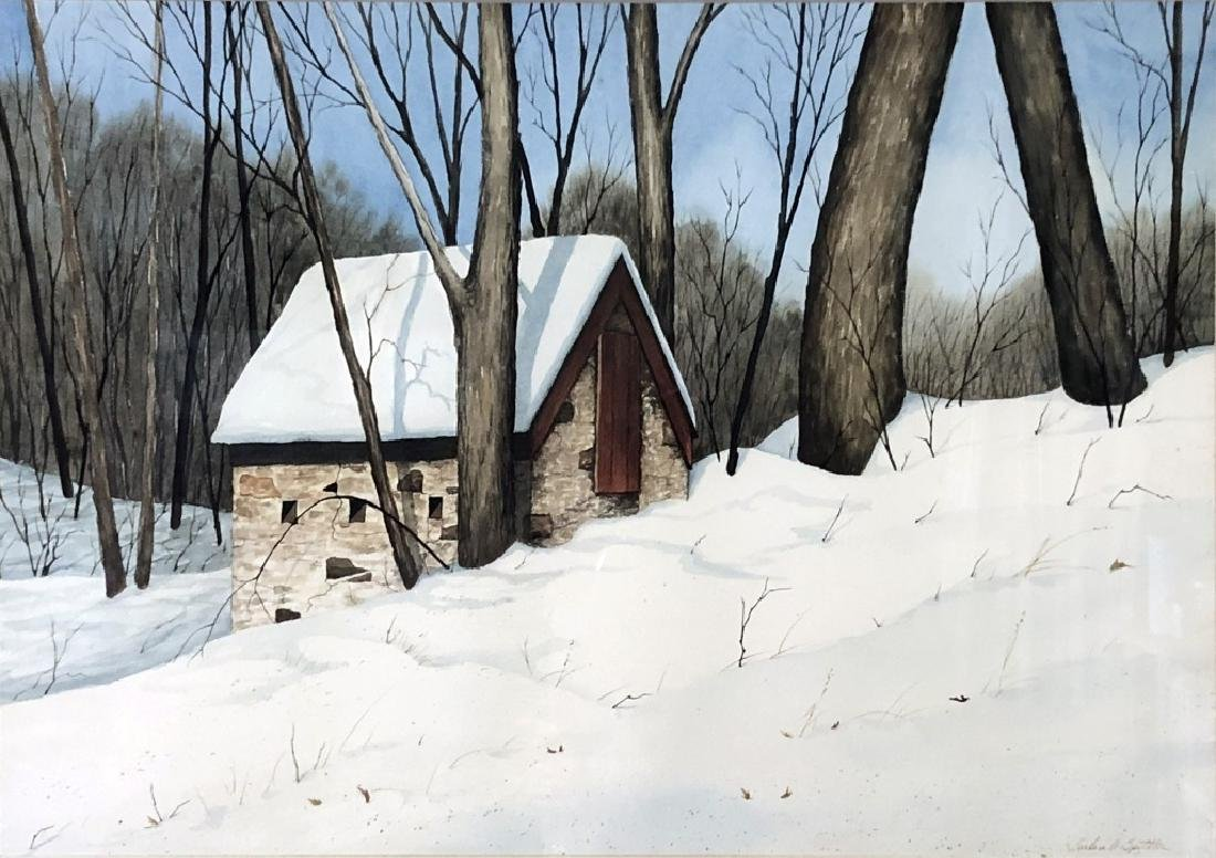 """Spittler """"Springhouse on Dowlin Forge Road"""" - 2"""