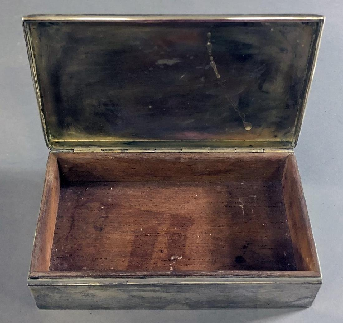 Sterling Silver Chippendale Pattern Dish and Box - 5