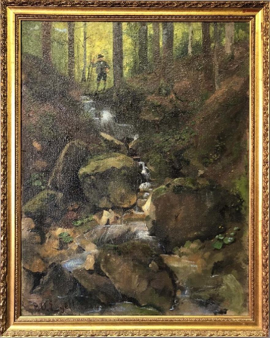 P.O. Engelhard Signed Oil on Canvas