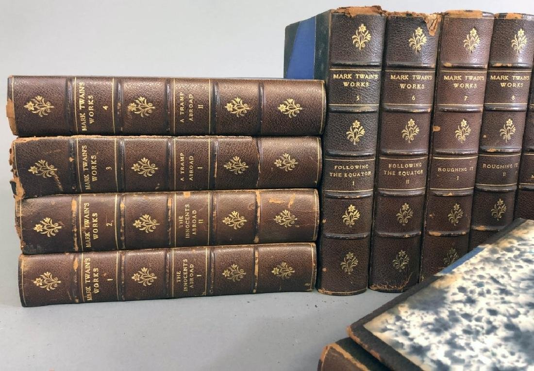 Twenty-Five Volume Set of the Works of Mark Twain - 2