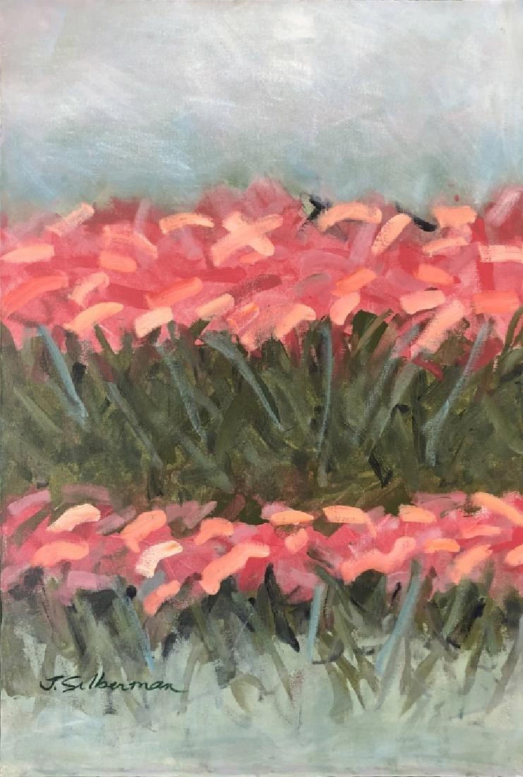 "Janeice Hotz Silberman ""Valentine"" Framed Acrylic - 2"