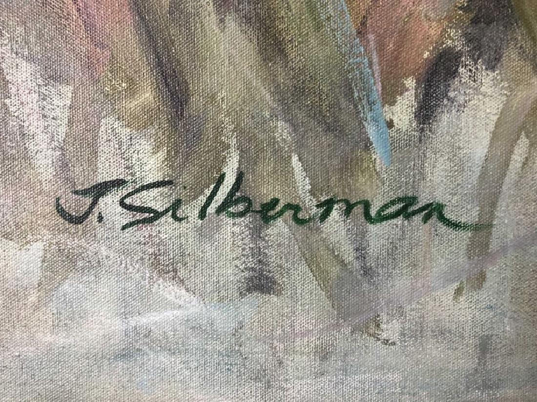 "Janeice Hotz Silberman ""Valentine"" Framed Acrylic - 3"