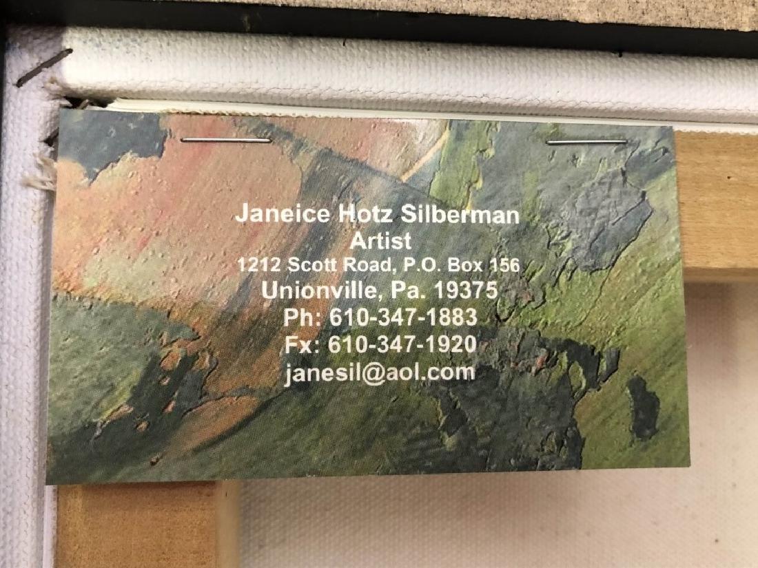"Janeice Hotz Silberman ""Valentine"" Framed Acrylic - 5"