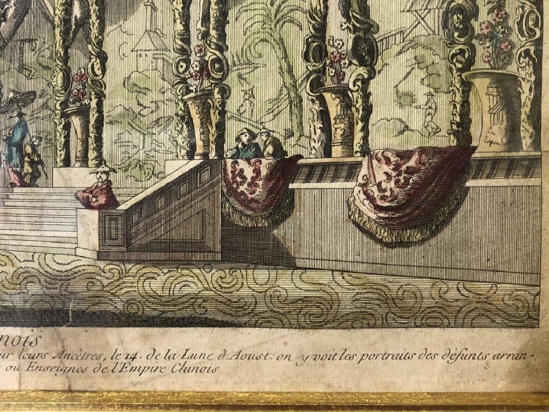 """J. Chereau Optical Print """"Vue d'un Temple Chinois"""" - 5"""
