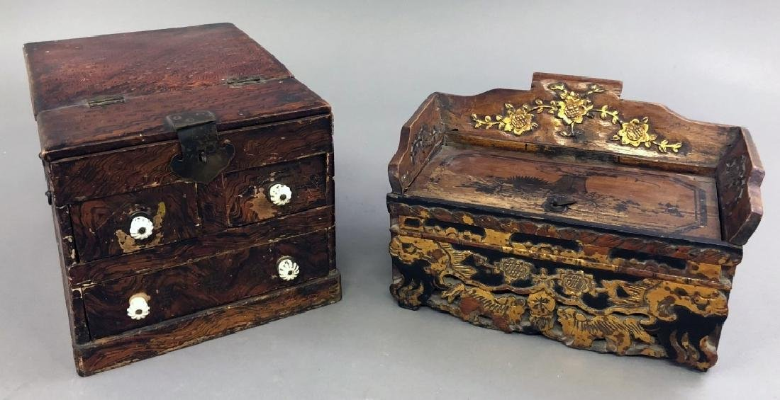 Two Asian Boxes - 2