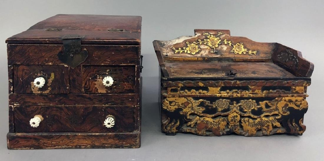 Two Asian Boxes - 3