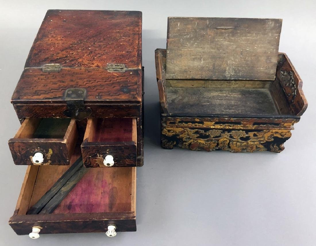 Two Asian Boxes - 4