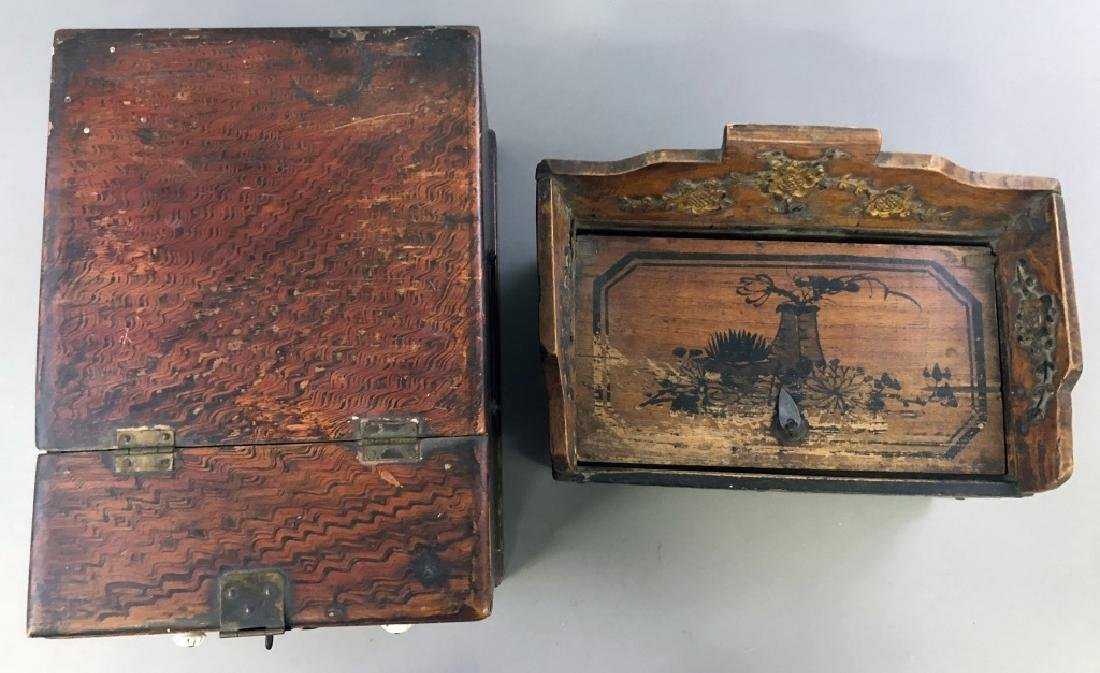 Two Asian Boxes - 5