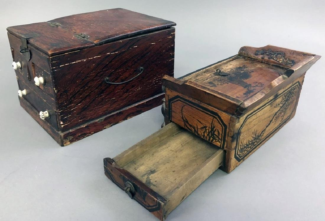 Two Asian Boxes - 6