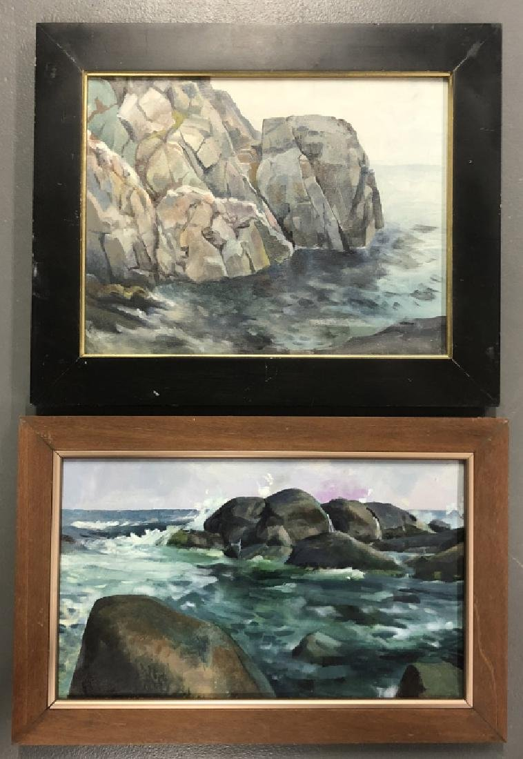 Two Quigley Paintings of Maine