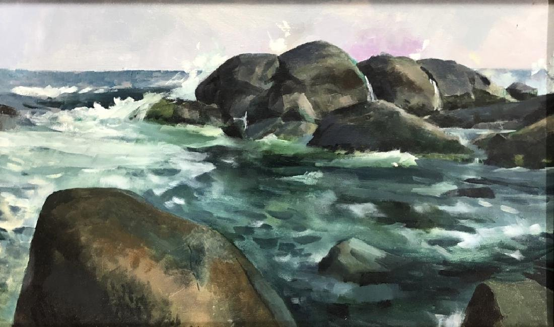 Two Quigley Paintings of Maine - 2