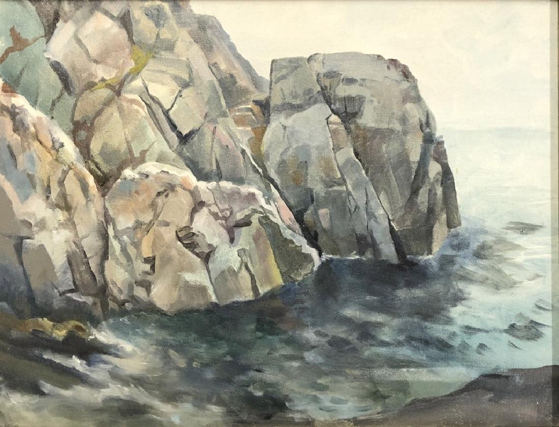 Two Quigley Paintings of Maine - 3
