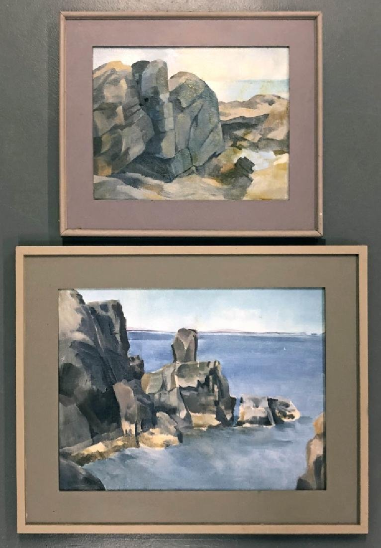 Two Paintings by David Quigley