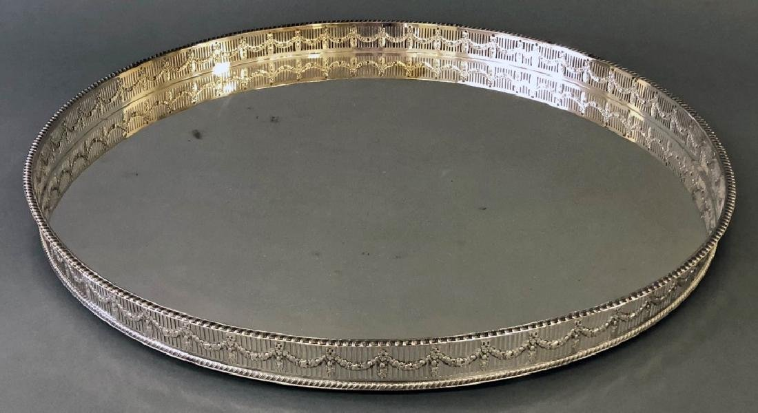 Large Sheffield Adams Style Serving Tray