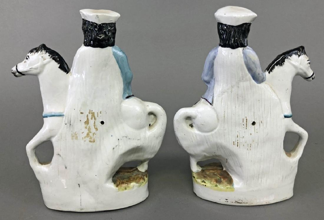 Two Staffordshire Figures of Richard Turpin - 2
