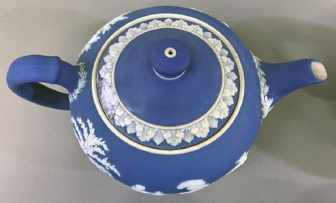 Early Wedgwood Teapots, Sugar Bowls, Creamers - 2