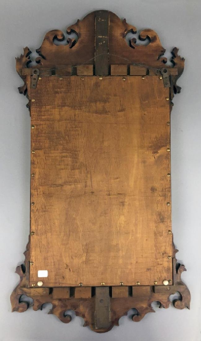 Chippendale Style Mahogany Mirror - 2
