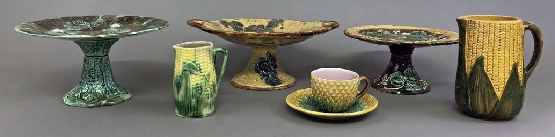 Grouping of English Majolica - 3