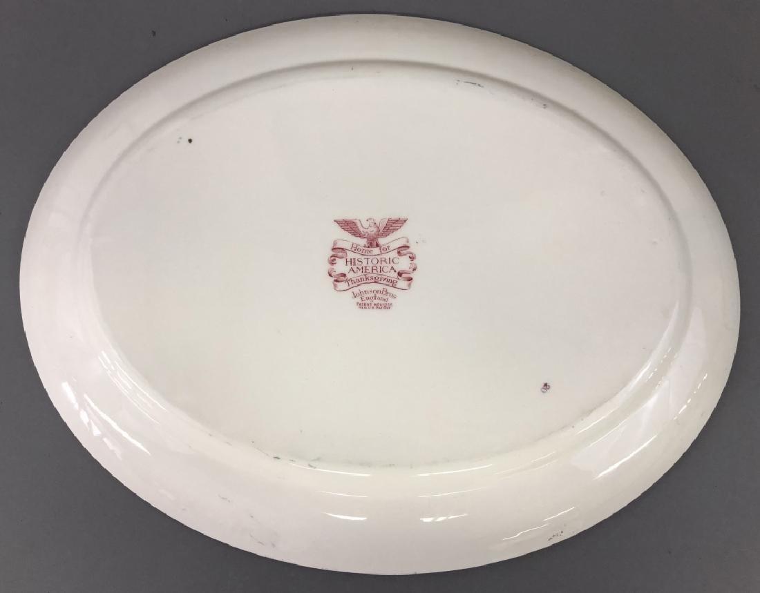 Johnson Bros. Historic America Plate - 3