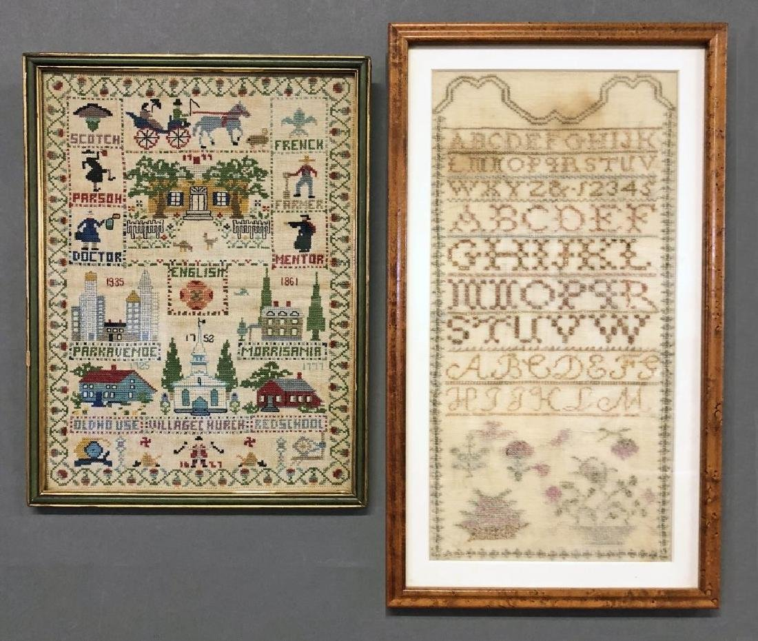 Two Framed Samplers