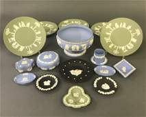 Wedgwood Grouping with Centerpiece Bowl