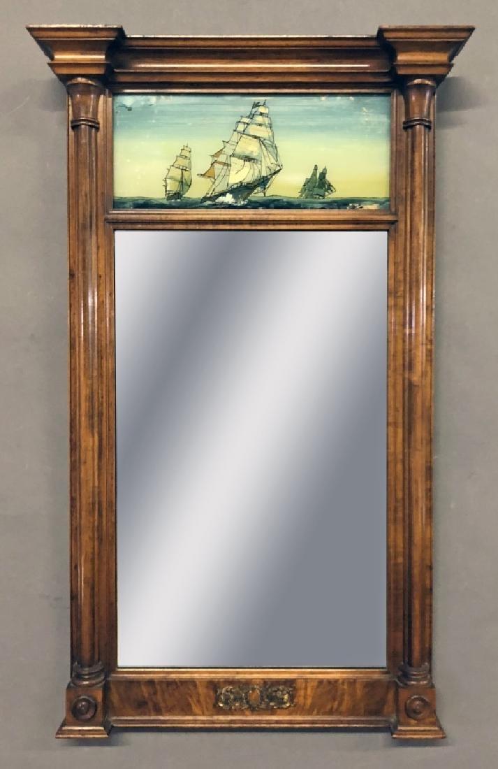 Sheraton Mahogany Mirror
