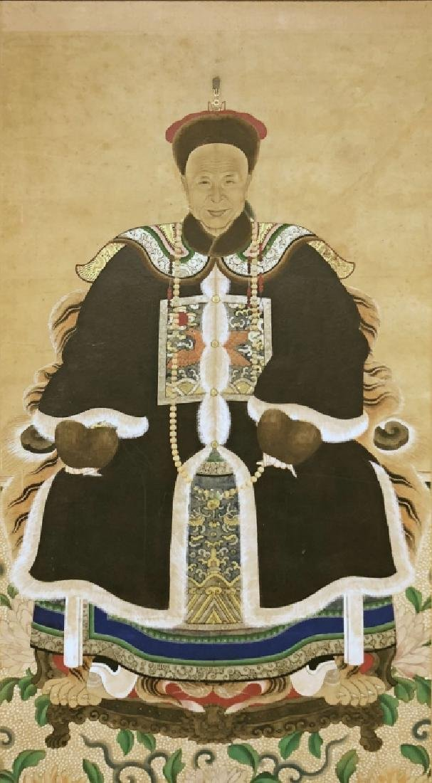 Chinese Ancestral Portrait - 2