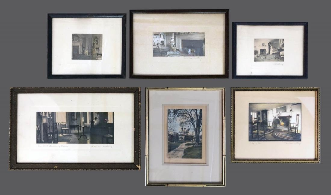 Six Signed Wallace Nutting Prints