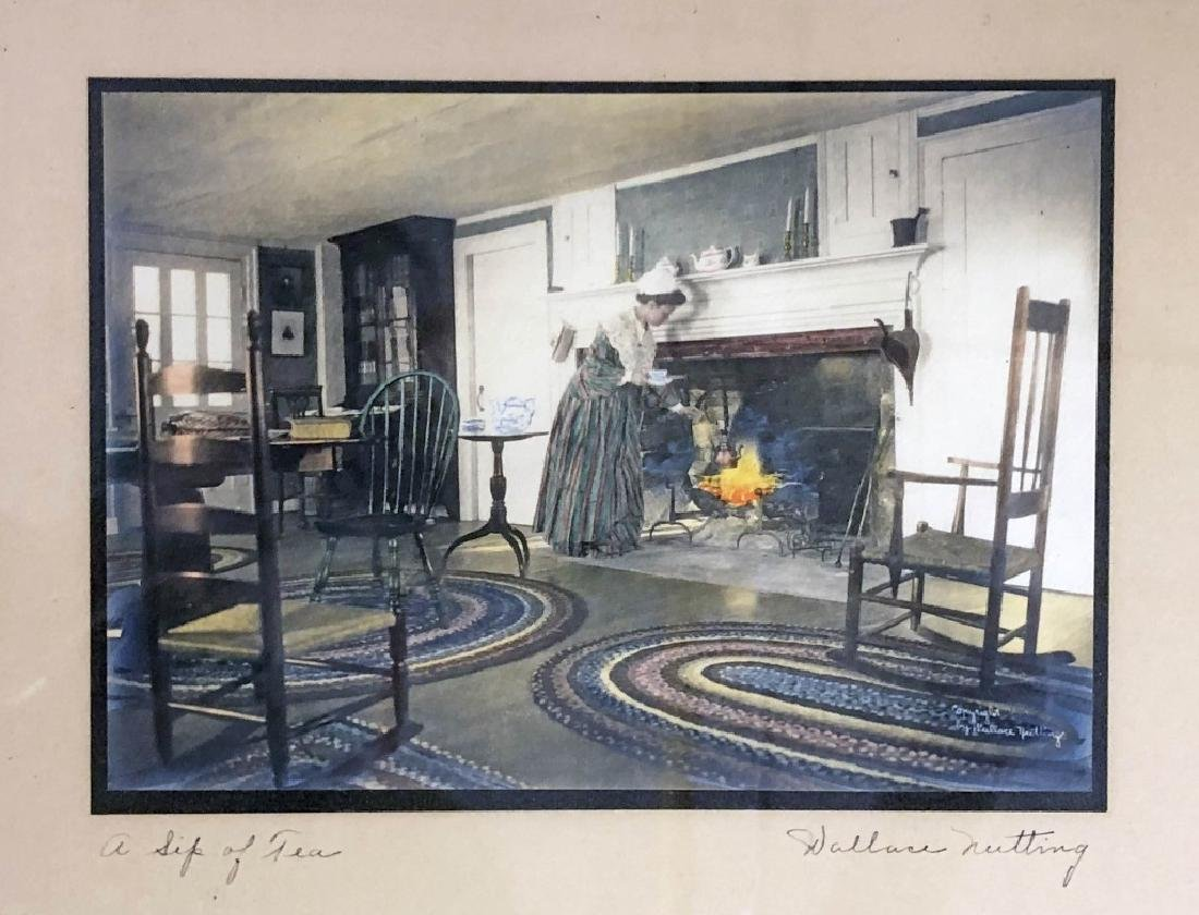 Six Signed Wallace Nutting Prints - 7