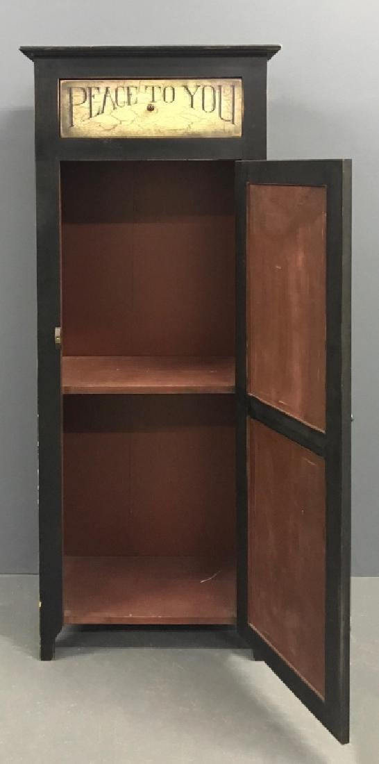 Contemporary Paint Decorated Chimney Cupboard - 2