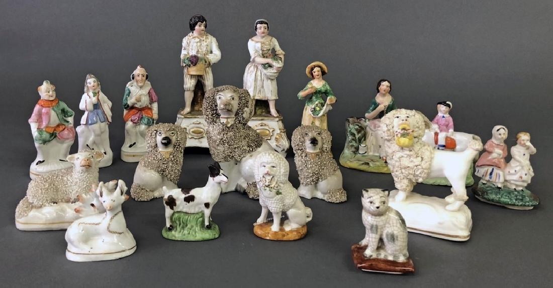 Staffordshire and Other Porcelain Figures