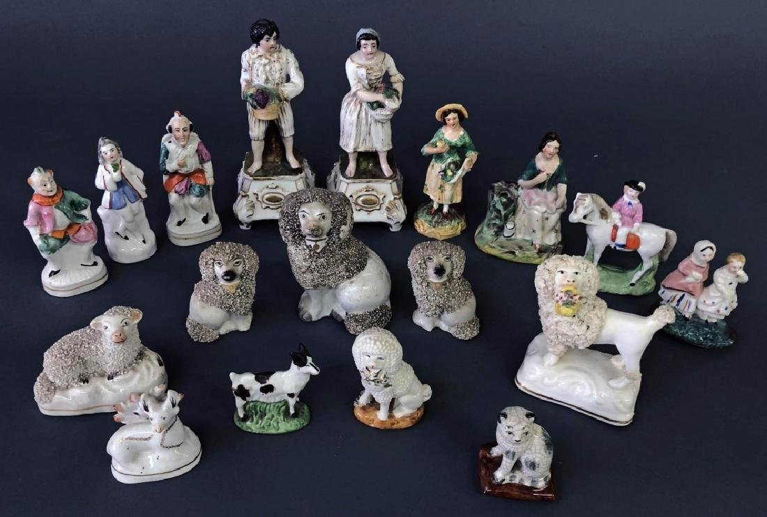 Staffordshire and Other Porcelain Figures - 2
