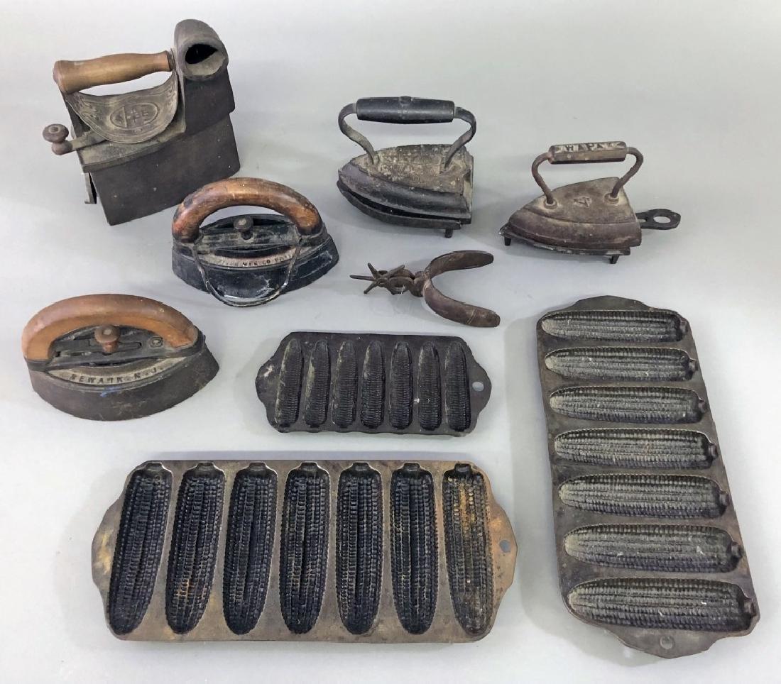 Cast Iron Grouping - 2