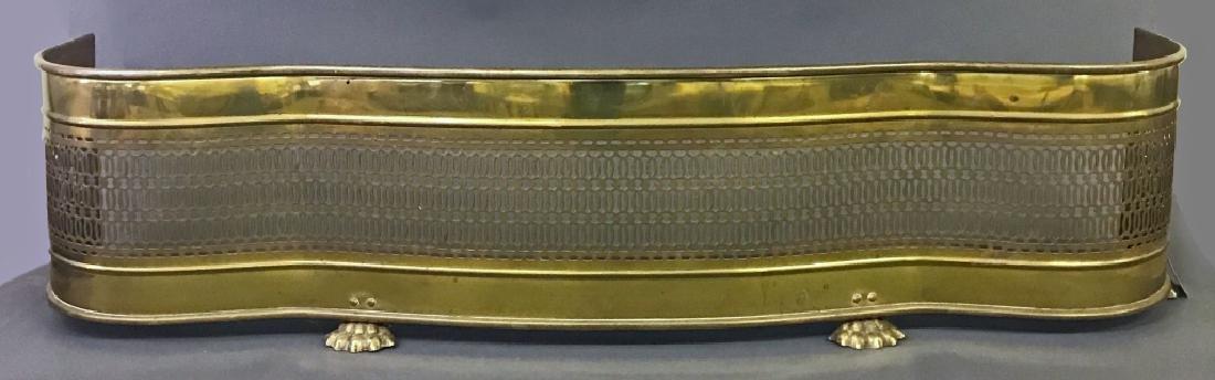 Brass Serpentine Fire Fender
