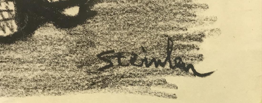 """Signed Lithograph """"Les Moutons de Boisdeffre"""" - 4"""