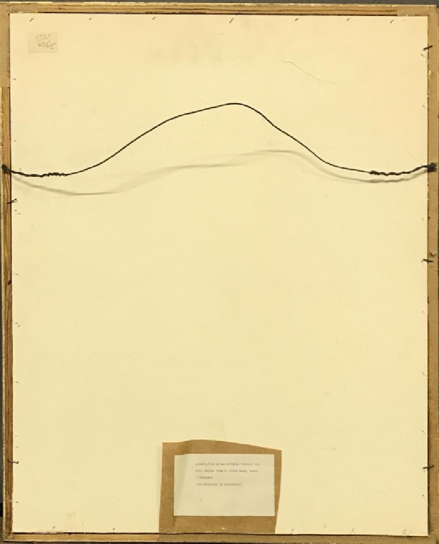 """Signed Lithograph """"Les Moutons de Boisdeffre"""" - 5"""