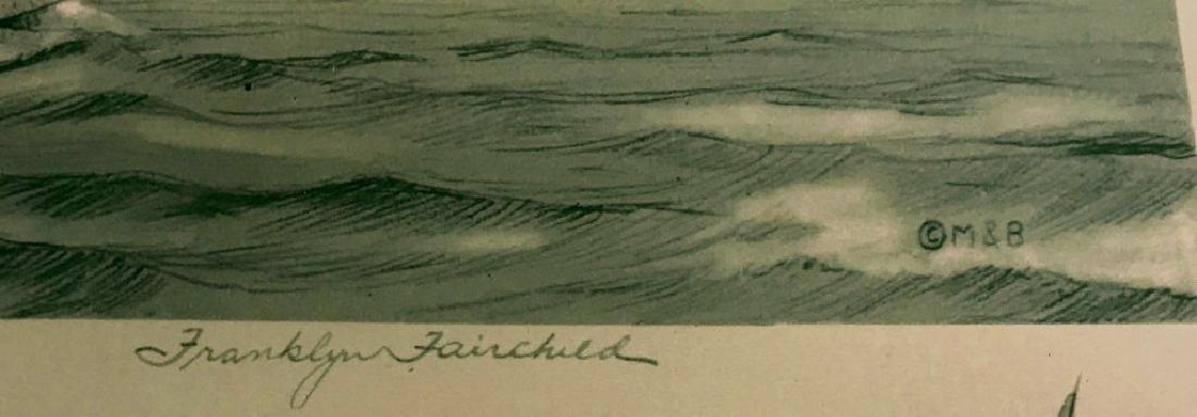 Four Franklyn Fairchild Racing Prints - 2