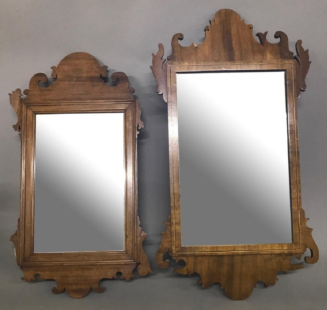 Two Chippendale Style Mirrors