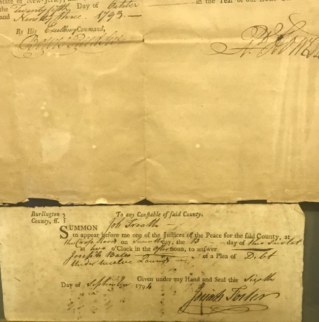 """1793 """"Appointment to Justice of the Peace"""" - 5"""