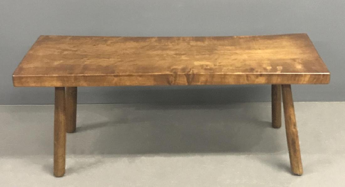 Cherry Slab Wood Coffee Table